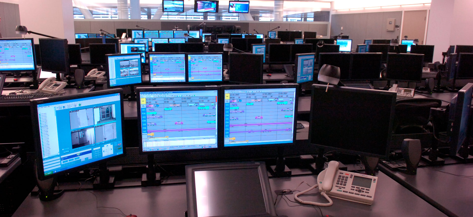 Air Canada Station Terminal Operations Control Stoc Urbacon