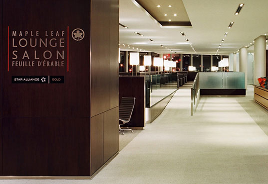 Air Canada - Domestic Maple Leaf Lounge