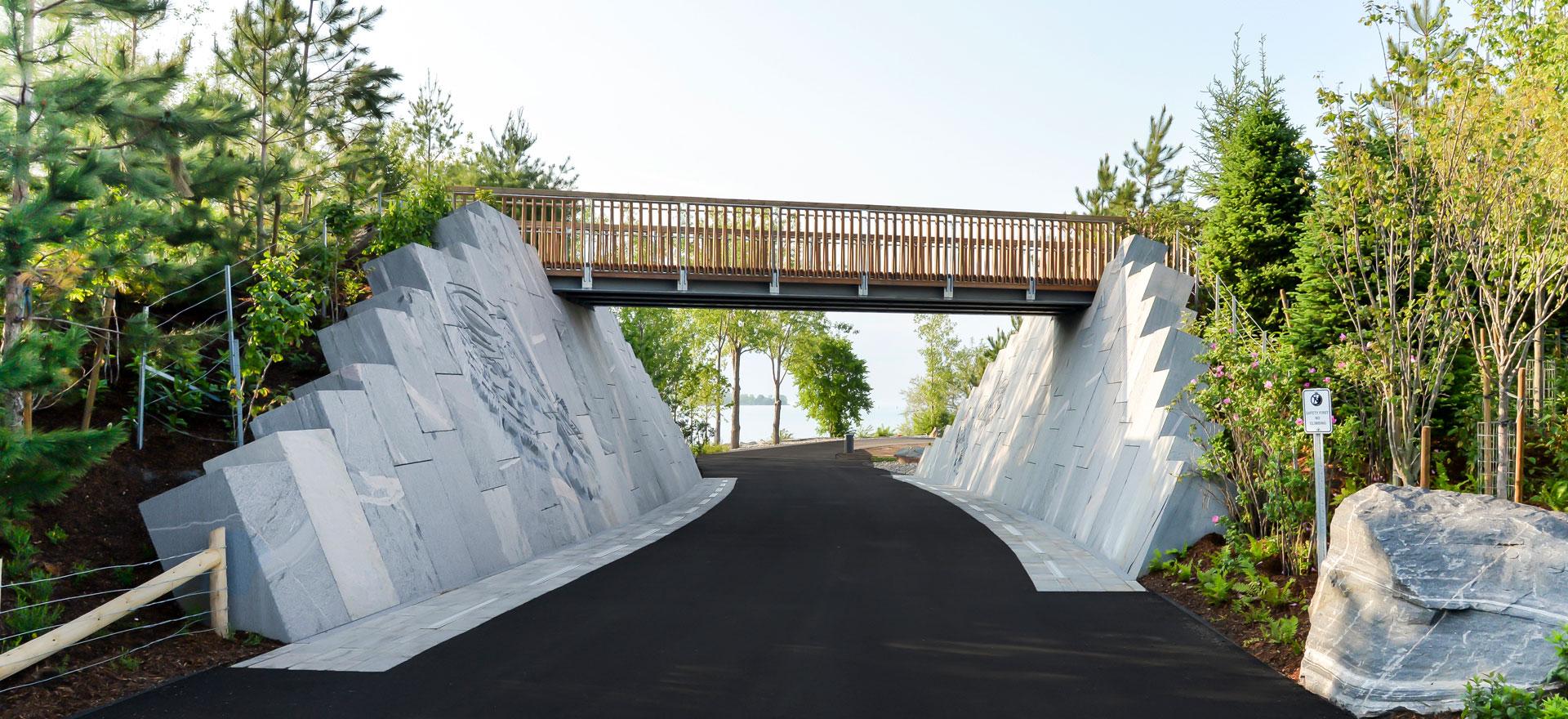 Infrastructure Ontario Trillium Park & William G. Davis Waterfront Trail
