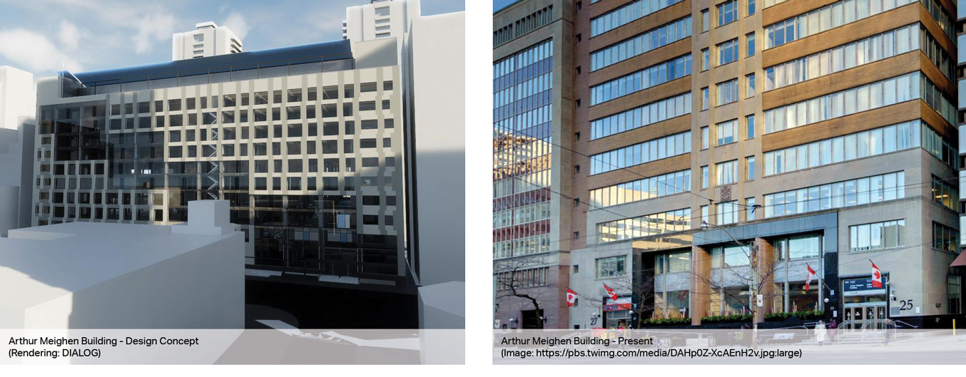 Pre-construction activity springs to life on the Arthur Meighen Building Rehabilitation