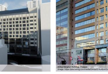 Pre-construction activity springs to life on the Arthur Meighen Building Rehabilitation