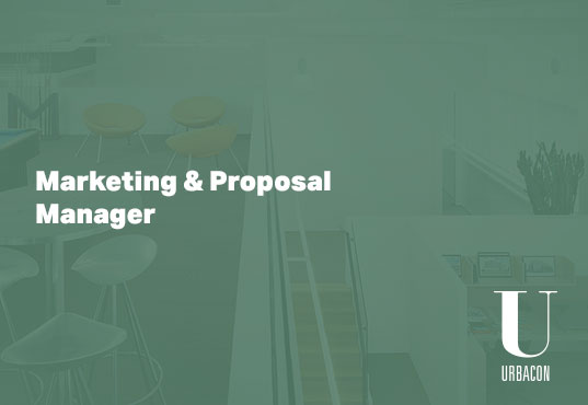 Marketing and Proposal Manager